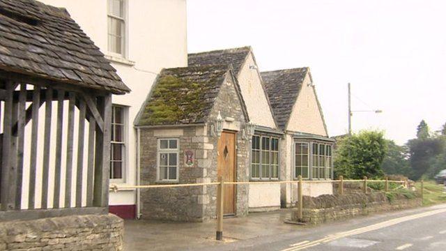 The Halfway House at Box, near Minchinhampton