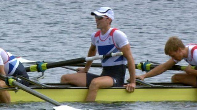 England rowing team