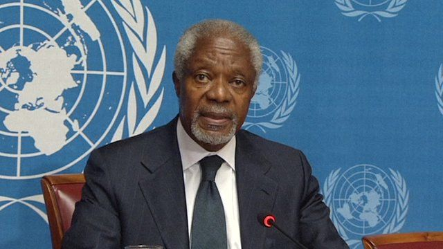 Kofi Annan has announced that he is leaving his post as the UN-Arab League's joint special envoy to Syria