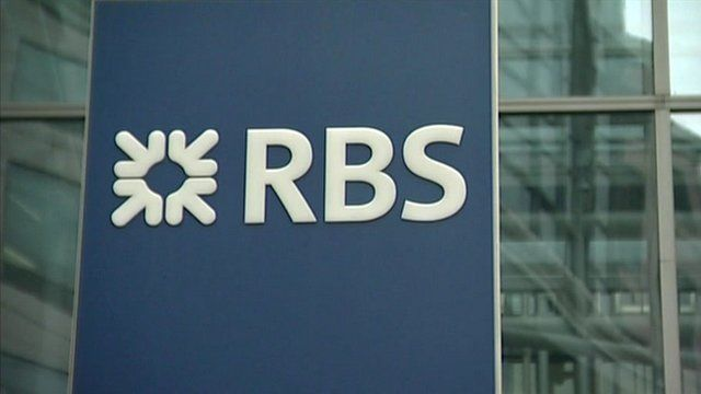 RBS sign on building