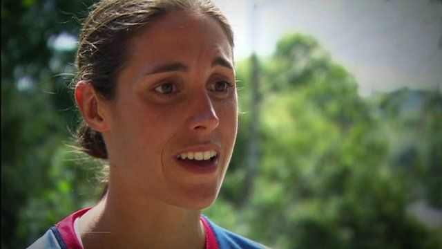 Team GB triathlete Helen Jenkins