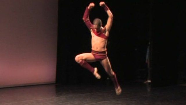Palestinian ballet dancer