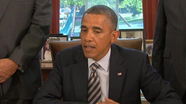 President Barack Obama speak at the White House 6 August 2012