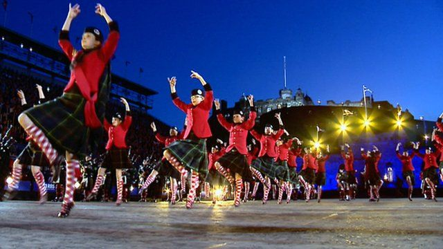 Performers at the Tattoo