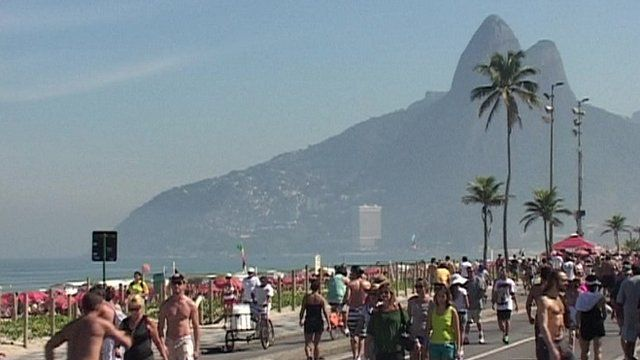 Rio de Janeiro's Ipanema beach
