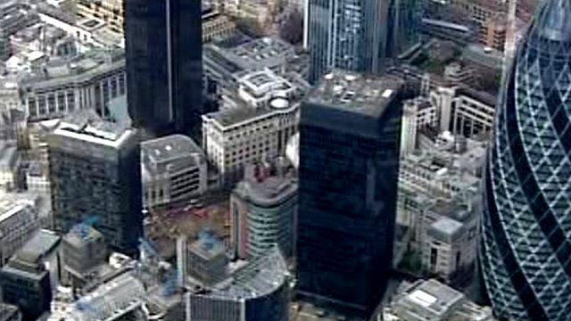 London city aerial gv