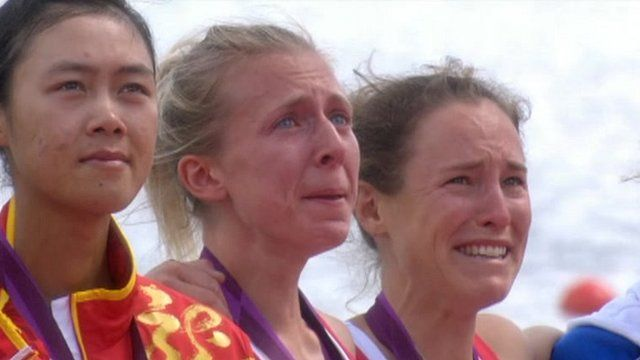 Crying Olympians