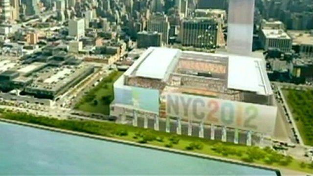 New York Olympic Games plan