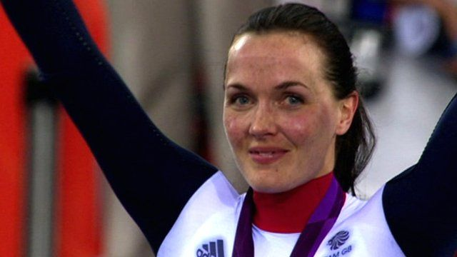 Gold and Silver medallist Victoria Pendleton