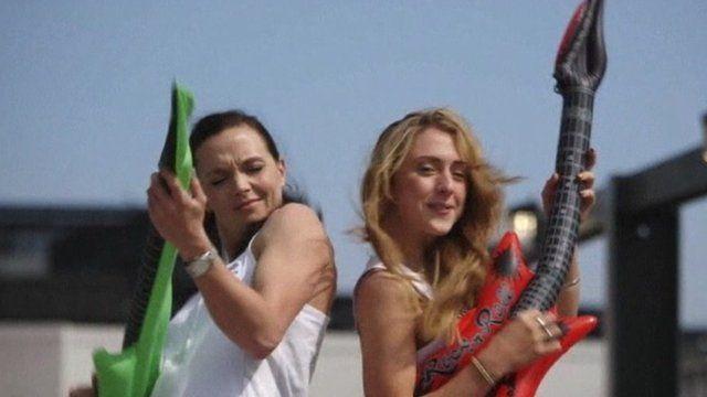 Victoria Pendleton and Laura Trott