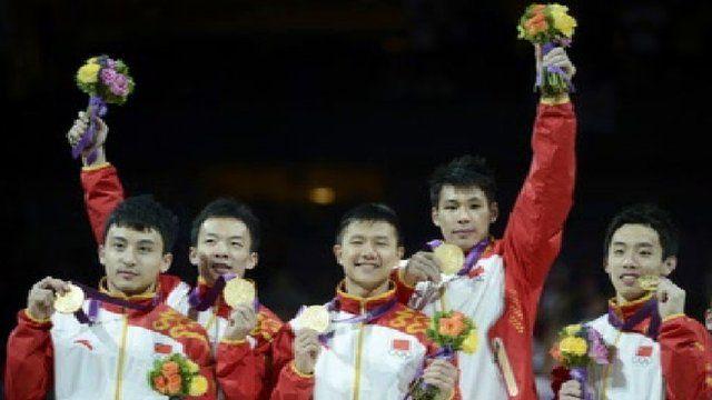 Chinese athletes