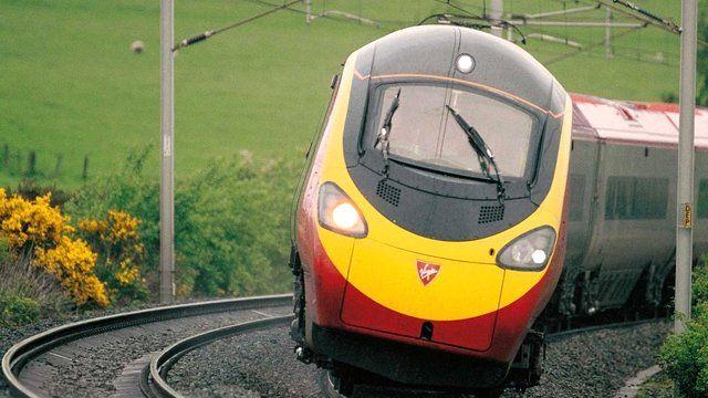 Virgin Pedolino train