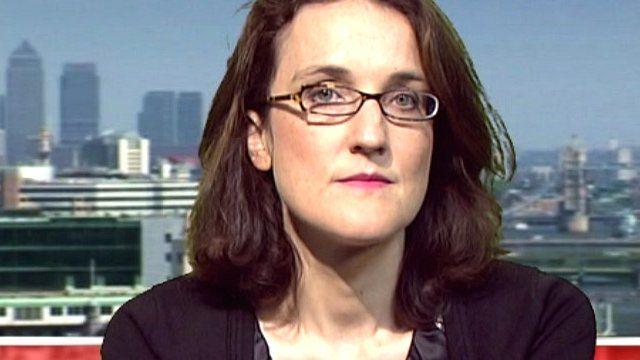 Rail Minister Theresa Villiers