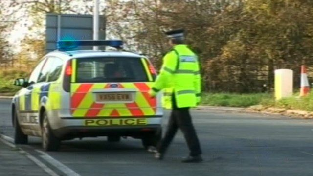 Gloucestershire police officers honoured for burning van rescue
