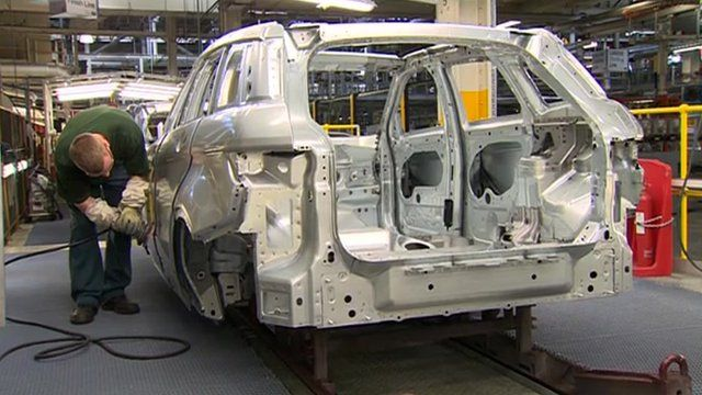 Car in production