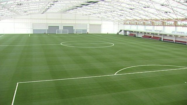 National Football Centre pitch