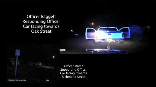 Police dash cam