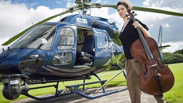 Cellist Laura Moody