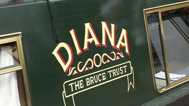 The Diana canal boat
