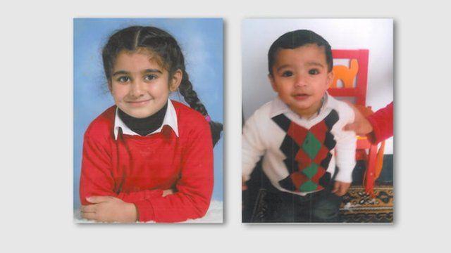 Sabam Saleem and her brother Raham