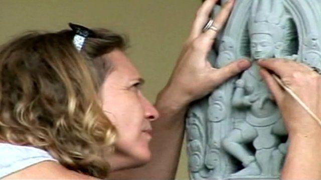 Sculptor Sarah Constable
