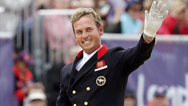 Carl Hester at the London 2012 Olympics