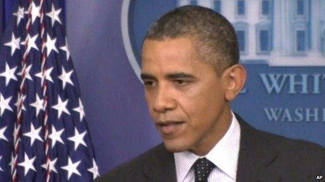 Barack Obama at the White House