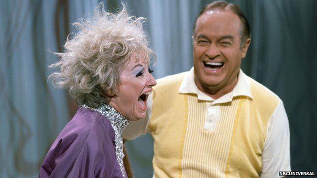 Phyllis Diller with Bob Hope