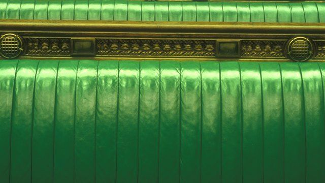 House of Commons benches