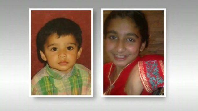 Rayhaan Saleem and his sister Sabah