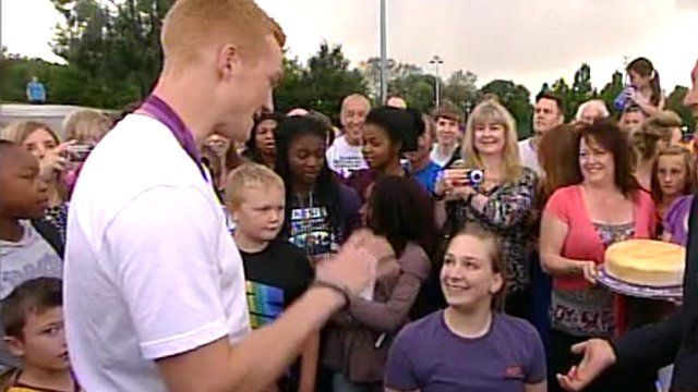 Greg Rutherford and