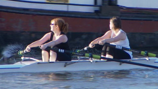 Gloucester Rowing Club rowers