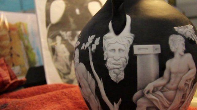 Portland Vase replica