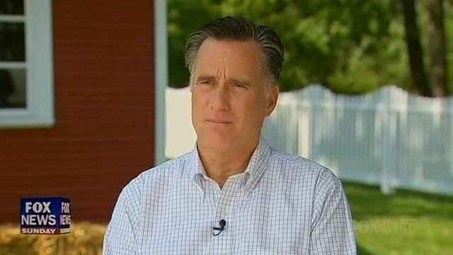 Mitt Romney on Fox News Sunday