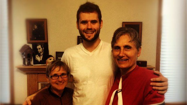 Zach Wahls and his mothers