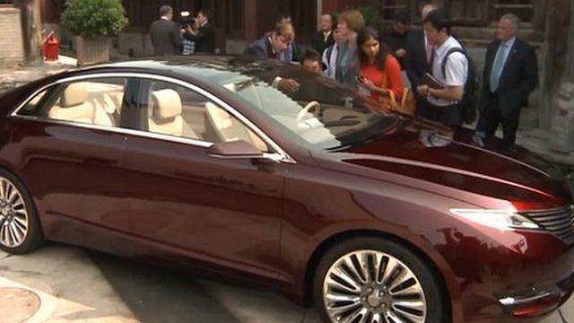 Ford S Lincoln To Compete With Top German Cars In China Bbc News