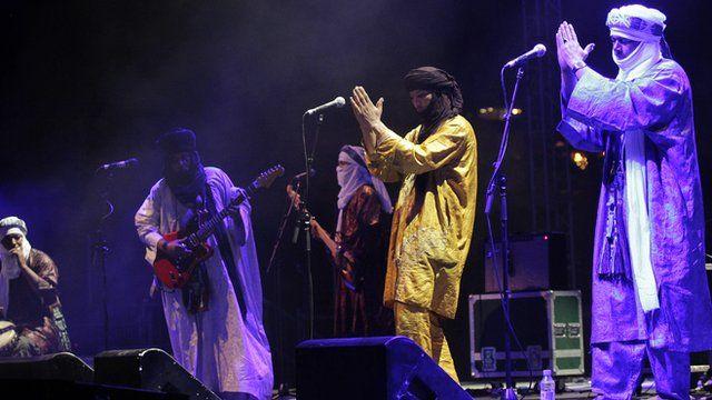 Tinariwen in concert