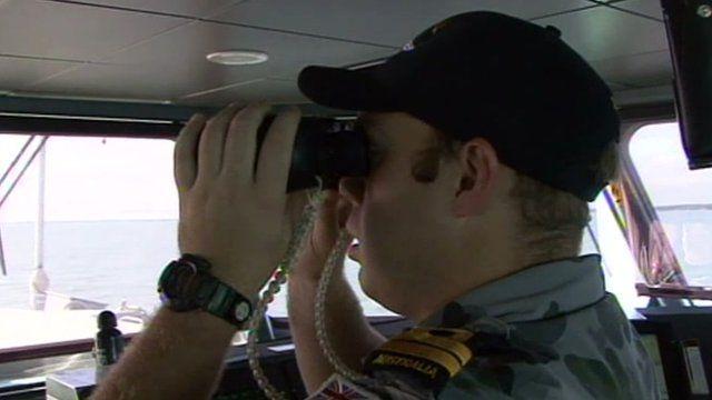 Australian Navy officer