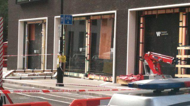 Scene of the incident in Hanover Street