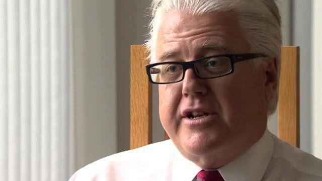 Ulster Bank's chief executive Jim Brown