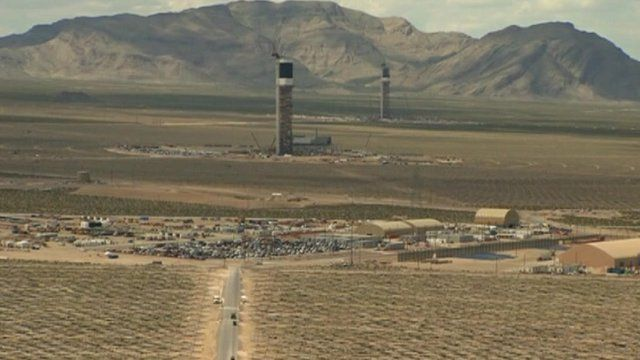 World's largest solar power plant, in California