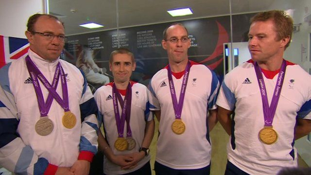 ParalympicsGB cyclist winners