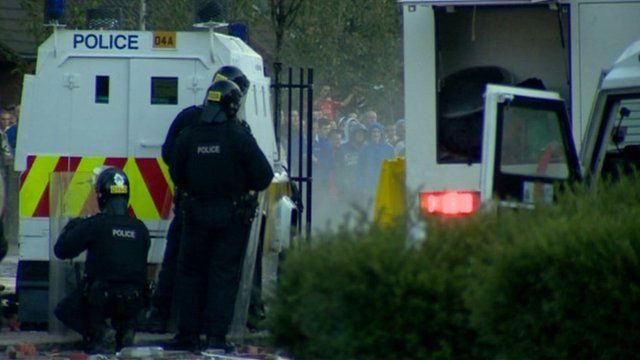 Violence in Belfast