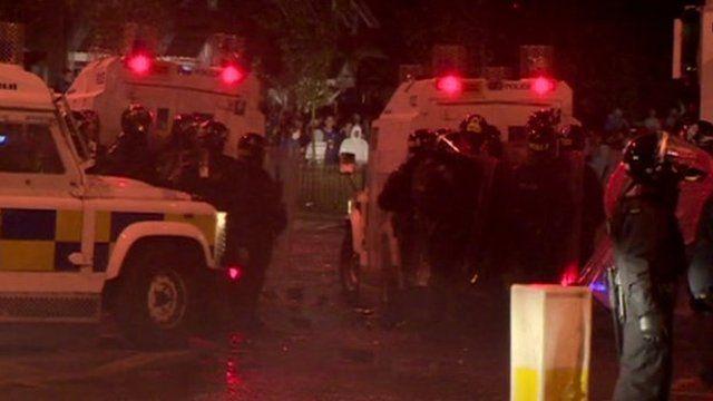 Police in Belfast