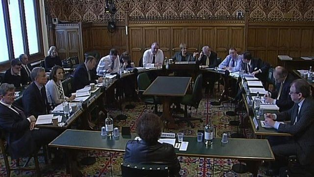 Public Accounts Committee scrutinising civil servants