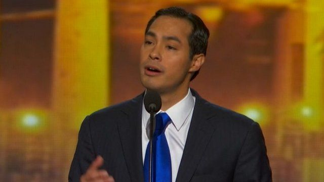 Julian Castro at the Democratic National Convention