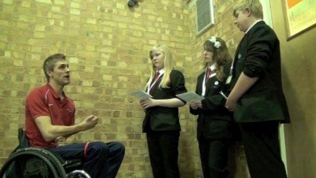 Steve Brown talks to School Reporters