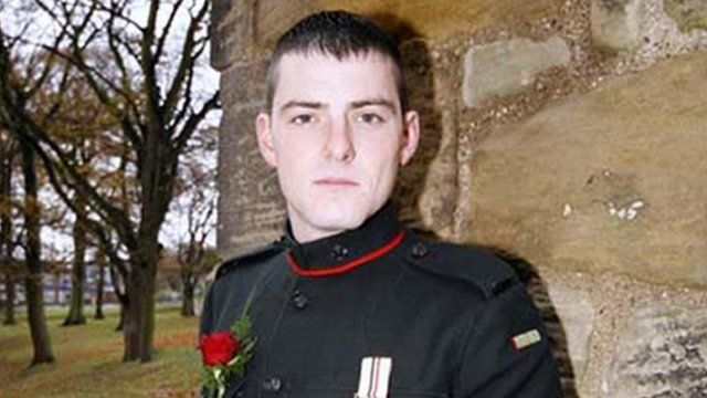 L/Cpl Christopher Roney, of 3rd Battalion The Rifles