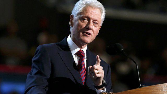 Former President Bill Clinton, 5 Sep