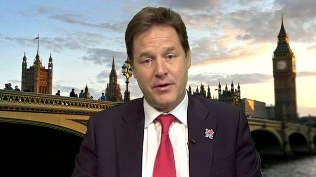 Nick Clegg, Deputy Prime Minister